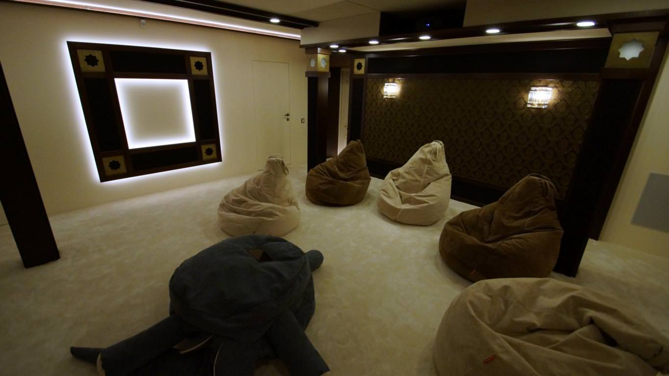Home Movie Theatre in Istanbul
