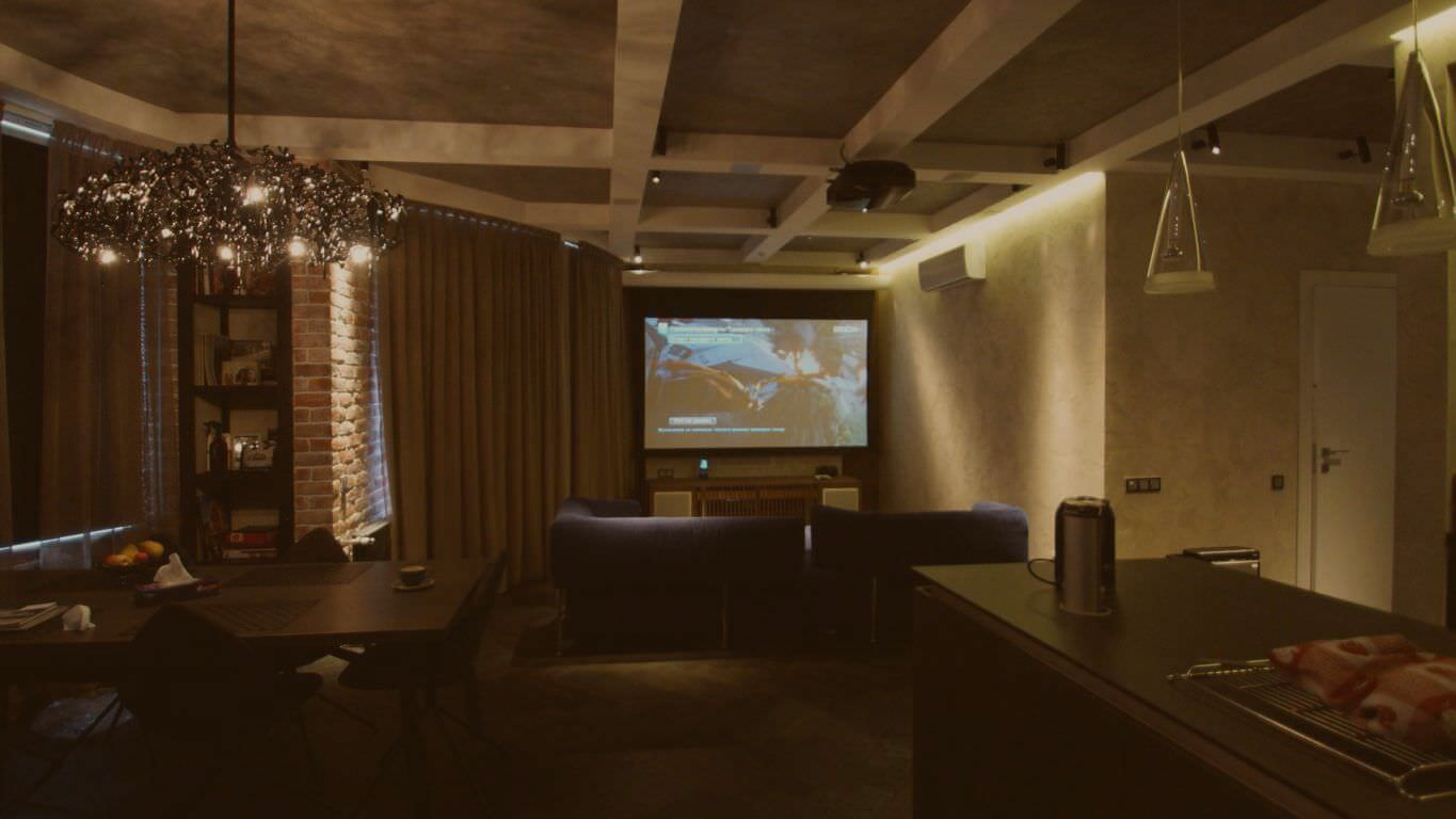 Home cinema on Vasilyevsky